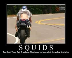 Motorcycle Meme - what is a motorcycle squid and why some prefer to ride that way