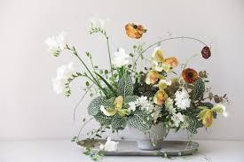 sarah winward u0027s simple winter floral arrangement rip u0026 tan