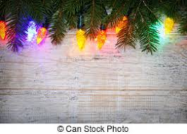 christmas branches with lights christmas lights background very colorful background with stock