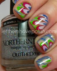 let them have polish water marble
