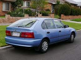 toyota hatchback file 1997 toyota corolla ae101r advantage seca 5 door hatchback