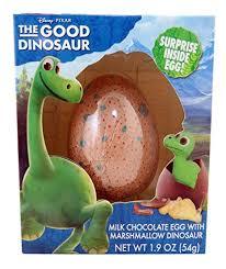 chocolate dinosaur egg disney pixar the dinosaur mik chocolate egg with