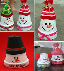 Christmas Decoration Ideas Pinterest Diy Christmas Decorations Made Using Terracotta Pots Www