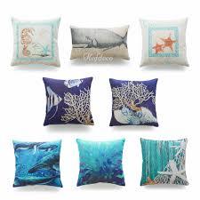 Pillow Decorative For Sofa by Online Get Cheap Decorative Beach Pillows Aliexpress Com