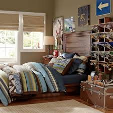 hampton planked bed headboard pbteen