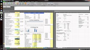 Real Estate Pro Forma Template by Real Estate Valuation Model Simple Office Property Youtube