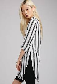 striped blouse forever 21 side slit striped blouse where to buy how to wear