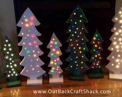 Decoration Christmas Wood by Wood Christmas Tree Etsy