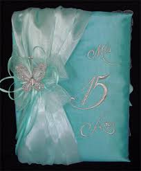 quinceanera guest book heidicollection quinceanera guestbook w butterfly teal blue