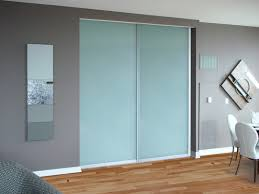 Wall To Wall Closet Doors Closet Doors Artistic Painted Glass Creative Mirror Shower