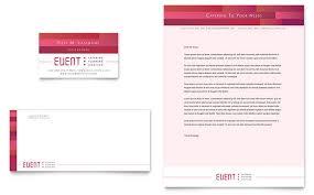 business events letterheads templates u0026 designs