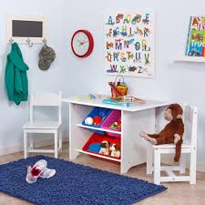 Kids Wood Table And Chair Set Riverridge Home 6 Piece White Children U0027s Table And Chair Set 01