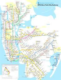 Ny City Subway Map New York City Subway Map In Subway Map New York City Manhattan