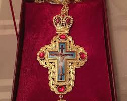 pectoral crosses pectoral cross etsy