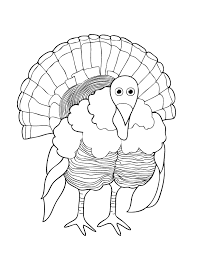 free printable thanksgiving coloring pages takes