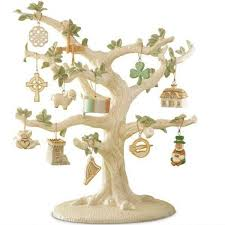 lenox luck of the miniature tree ornaments set