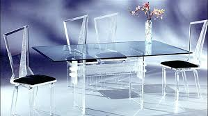 Clear Acrylic Dining Chairs with Dining Table Acrylic Dining Table And Chairs Uk Glass With Legs