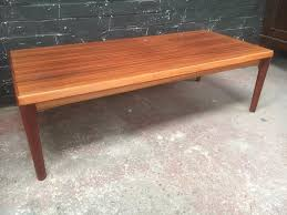 mid century danish long rosewood coffee table by vejle stole