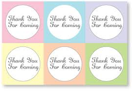 remarkable thank you tags for baby shower printables 50 about