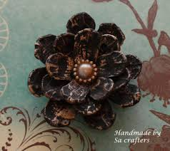 diy easy to make pine cones flower tutorial by sacrafters youtube