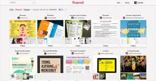 Online Resume Tool by Tips To Use Pinterest For Job Search A Great Resume Tool For