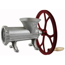 Cast Iron Coffee Grinder Sportsman Series 32 Cast Iron Meat Grinder With Pulley Walmart Com