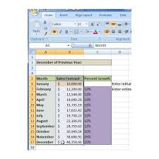 Monthly Sales Report Template Excel How To Create A Sales Forecast In Excel Free Excel Sales