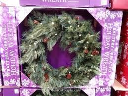 battery operated wreath 32 inch battery operated wreath