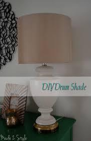 Lamp Shades Diy Diy Drum Shade