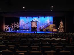 christma scene church stage design idea the way to make church