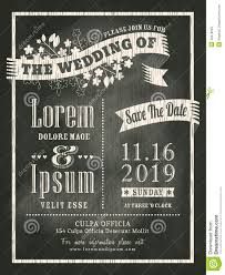 Create Marriage Invitation Card Free Vintage Chalkboard Wedding Invitation Card Background Stock Vector