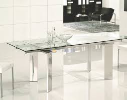 silverado chrome 47 round dining table glass and chrome dining table popular kitchen noteworthy wood
