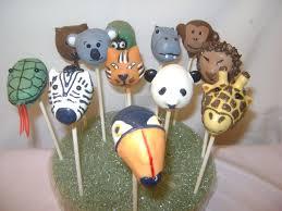 zoo animal cake pops 1 zoo animals for a friend u0027s son u0027s u2026 flickr