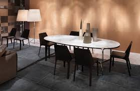 contemporary dining table metal marble oval clarke flexform contemporary dining table metal marble oval clarke flexform