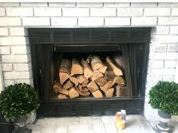 how to get the vintage brick fireplace look seeking lavendar lane