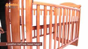 Davinci Alpha Mini Rocking Crib by Bambies Rocking Cot Bed Youtube