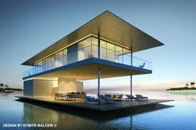 floating house dymitr malcew architecture pinterest