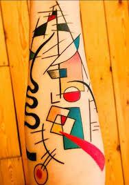wassily kandinsky geometric tattoo by entouane blague richmond