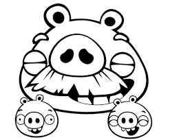 foreman pig minions coloring free printable coloring pages
