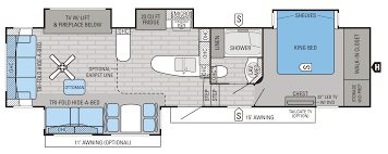 Carriage Rv Floor Plans by 2016 Luxury Fifth Wheel Floorplans U0026 Prices Jayco Inc