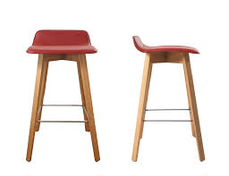 kitchen bar red contemporary hanna bar height stool rustic bar