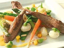 cuisiner aiguillettes de canard aiguillettes de canard et légumes primeurs