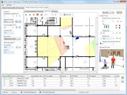 jvsg cctv design software house plan floor camera coverage
