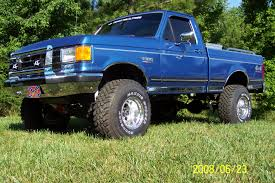 Old Ford Truck Lift Kits - 1990 ford f 150 information and photos zombiedrive
