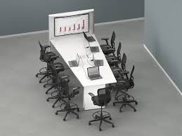 concurrence enwork technology meeting room scheduler Interactive Meeting Table