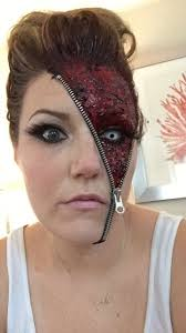 halloween makeup eyes best 25 zipper face ideas on pinterest zipper face makeup