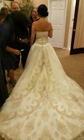 Mon Cheri Wedding Dresses Mon Cheri Vittora 16202 650 Size 4 Used Wedding Dresses