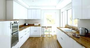 cuisine contemporaine blanche et bois cuisine moderne et design cuisine moderne blanche et bois