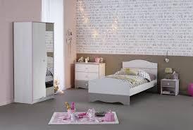 chambre complete fille chambre enfant contemporaine pin et grise aquarelle