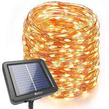 Solar Powered String Lights Patio by Homestarry 160 Ft 480 Leds Starry String Lights Solar Powered